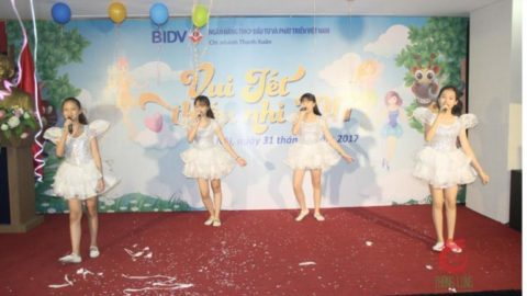 Happy International Children's Day at BIDV Bank, Thanh Xuan branch