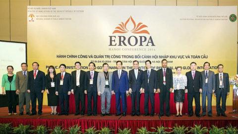 Hội nghị Tổ chức hành chính miền Đông thế giới (EROPA) 2014