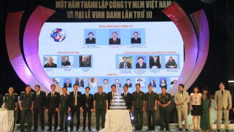 Lễ kỷ niệm 1 năm thành lập công ty MLM Việt Nam và đại lễ vinh danh lần thứ III