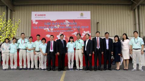 Gặp Mặt Đầu Xuân Và Phát Động Thi Đua 2015 – Canon Việt Nam