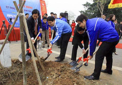 Thăng Long Event - tết trồng cây