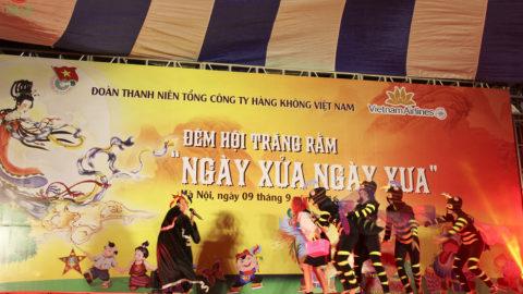 """Đêm hội Trăng rằm: """"Ngày xửa ngày xưa"""" – VietnamAirlines 2016"""