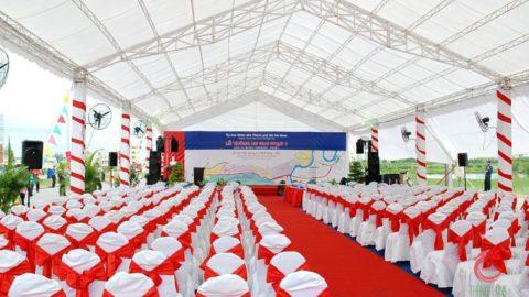 Nhà bạt sử dụng trong tổ chức sự kiện