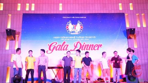 Tổ chức 1 chương trình Gala dinner