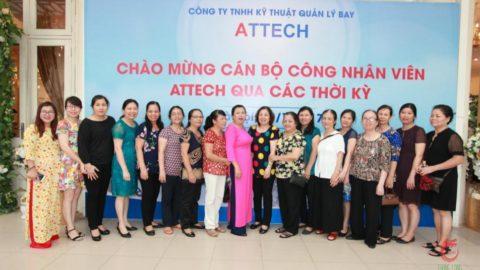 Chương trình gặp mặt cán bộ công nhân viên Attech qua các thời kỳ