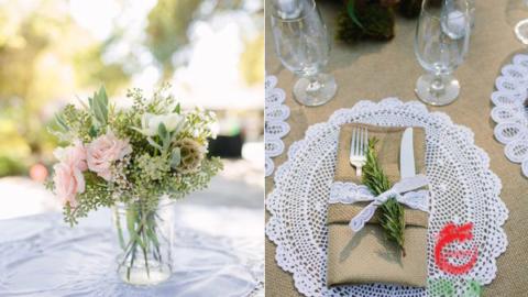 lace-placemat-against-burlap-linens-united-wedding-theme
