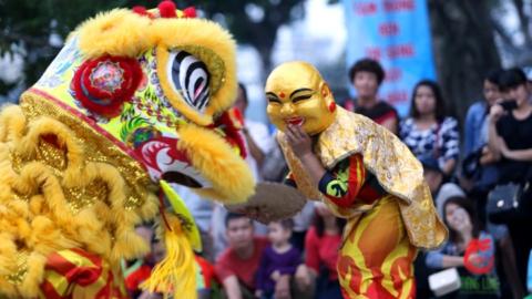 Văn hóa Lân – Sư – Rồng trong tổ chức sự kiện