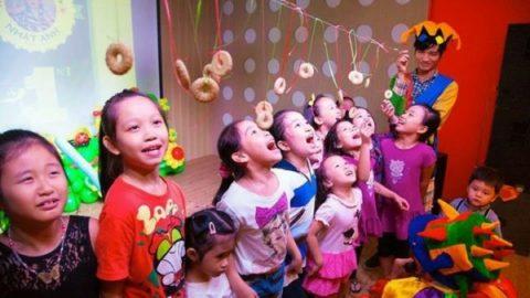 Tổ chức sự kiện hấp dẫn cho trẻ em