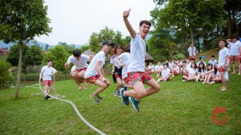 Kinh nghiệm tổ chức teambuilding cho doanh nghiệp