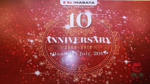 Lễ kỉ niệm 10 năm INABATA