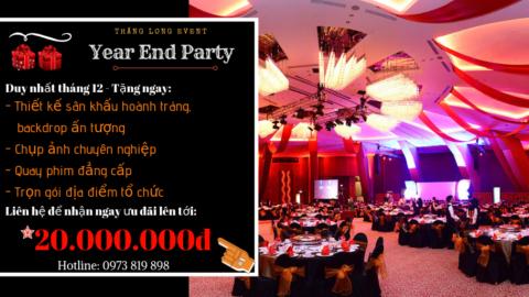 Tổ Chức Tiệc Tất Niên (Year End Party) 2018