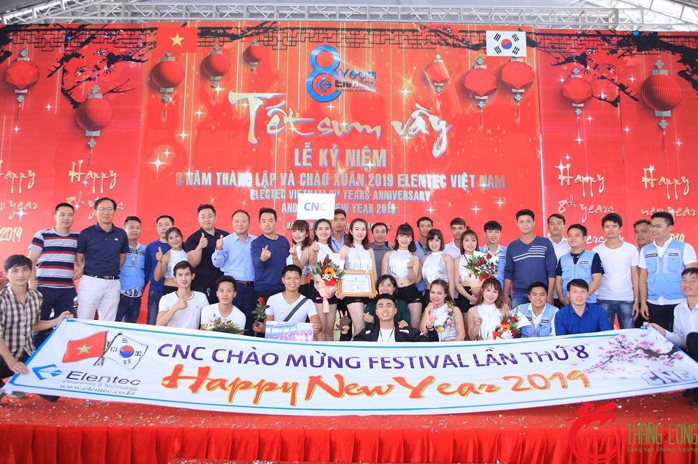 Elentec Việt Nam - Lễ Kỷ Niệm 8 Năm Thành Lập Và Chào Xuân 2019