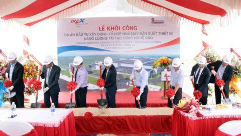 Tổ chức lễ khởi công xây dựng nhà máy điện năng lượng tái tạo