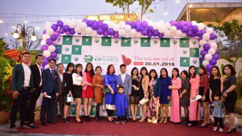 Tổ chức lễ kỷ niệm thành lập công ty dược phẩm