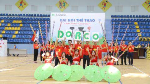 Đại Hội Thể Thao Dorco Vina – Lễ Kỷ Niệm 11 Năm Ngày Thành Lập Công Ty