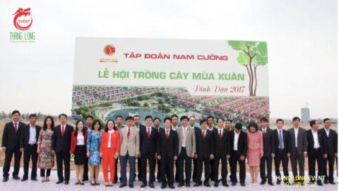 Dịch vụ tổ chức tết trồng cây đầu năm 2020