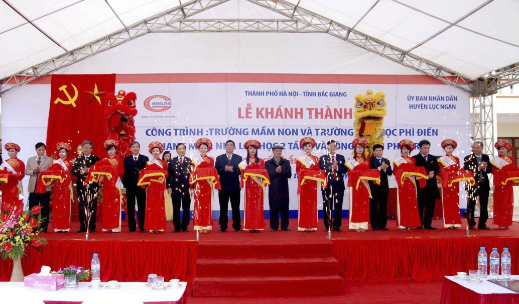 Cách thức trang trí lễ khánh thành | Thang Long Event